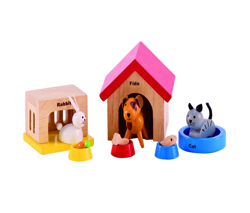 現代可愛寵物組合 Family Pet Set